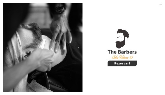 Creare website barbershop / frizerie